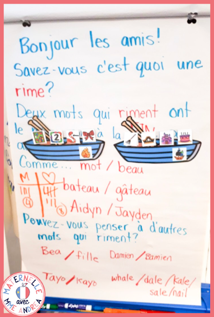 Unsure how to introduce rhyming to your maternelle students? Or maybe you're looking for some more quick ways to sneak in some valuable practice time? These 6 tips for teaching rhyming in maternelle are sure to help you get started on the right foot!