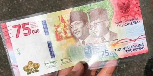 Heboh Uang Rp75 Bisa Nyanyi Indonesia Raya