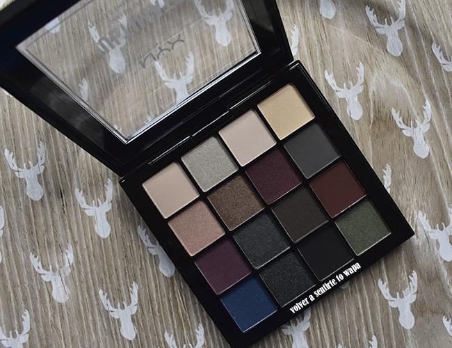 Paletas de sombras de ojos Ultimate Shadow de Nyx - tono 01 Smokey & Highlight