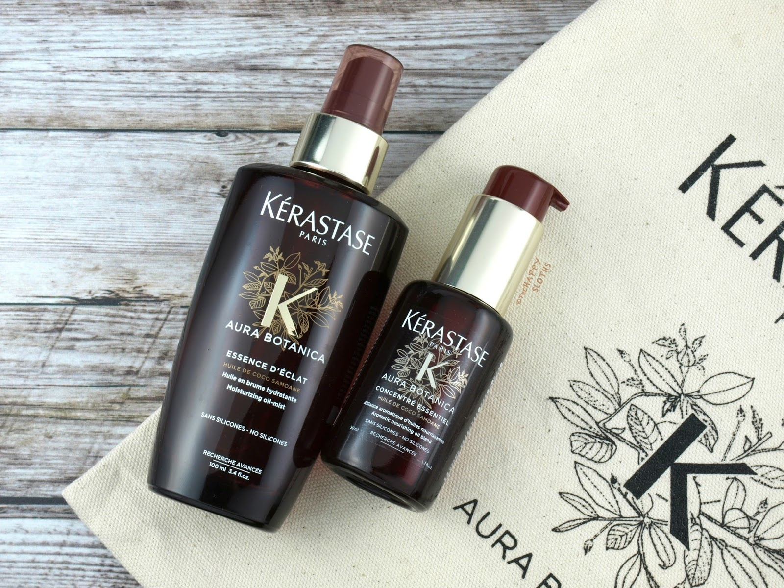 Kerastase Aura Botanica Collection | Oil Mist & Oil Blend: Review