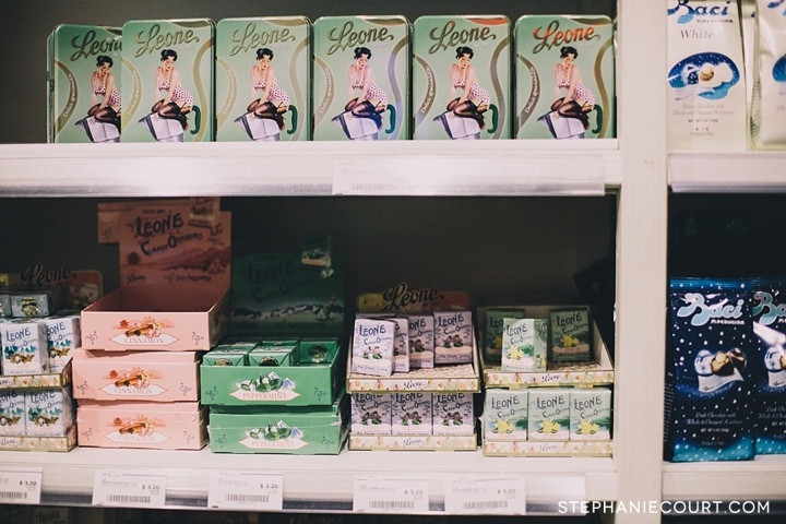 imported Italian products at Eataly New York City