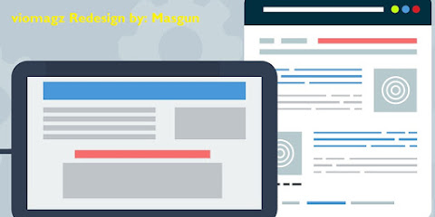 Template Premium Viomagz Responsif RE-DESIGN  By MasGun