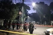 Terdengar Kencang Hingga Alarm Mobil Berbunyi Bom  Rakitan Meledak di Menteng Jakarta Pusat