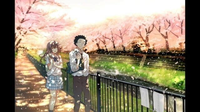 Koe No Katachi Cherry Blossom