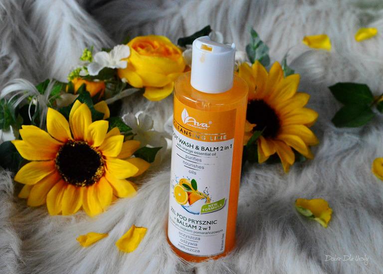 Ava Cleansing Line - Żel pod prysznic + balsam 2 w 1 z Olejkiem Pomarańczowym recenzja