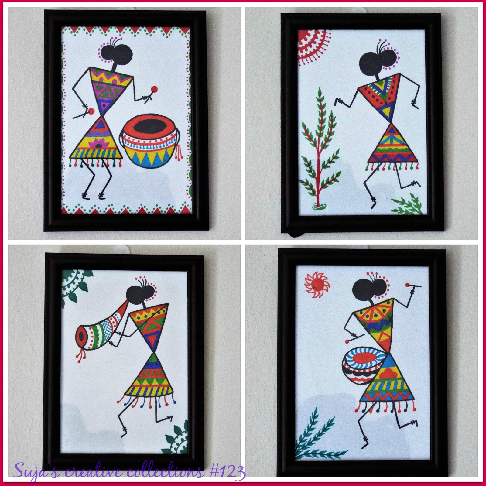 Suja S Creative Collections Warli Designs