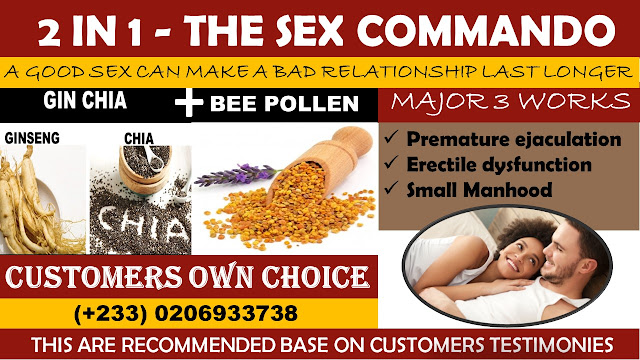 Bee Pollen and Gin Chia (PREMATURE EJACULATION & ERECTILE DYSFUNCTION) One Time Solution