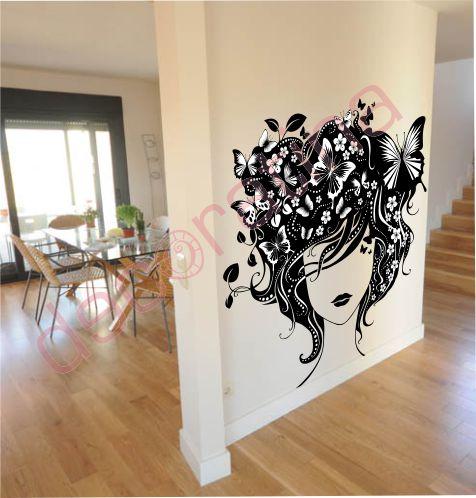 Decoratina vinilos decorativos en las palmas - Mariposas en la pared ...