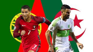 البرتغال في مواجهة الجزائر وديا استعدادا لمونديال روسيا 2018