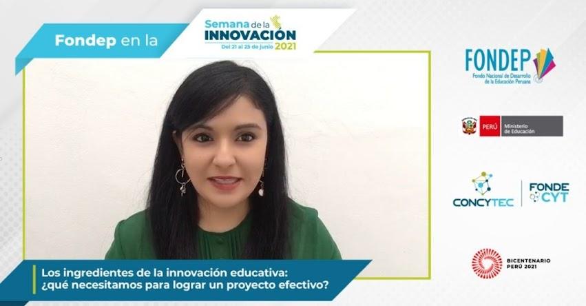 Un gran error es concentrarse en la actividad y olvidar el procedimiento metodológico, sostiene Vanessa Toribio, coordinadora de la Unidad de Formulación de Programas del FONDEP