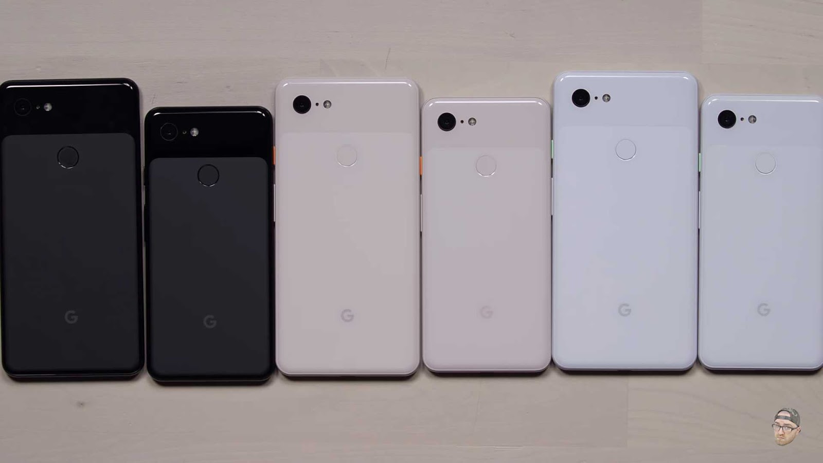 Google Pixel 3 and 3 XL Colors