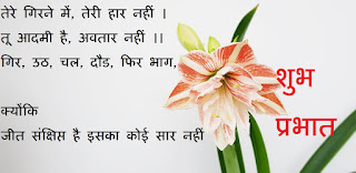 best good morning quotes in hindi for whatsapp