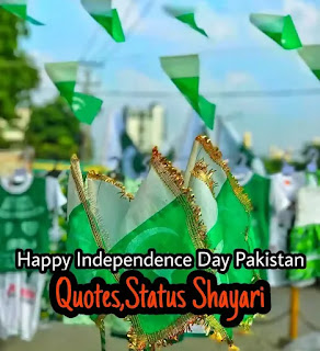 Pakistan Independence Day Quotes, Shayari, SMS - Pakistan Day Quotes