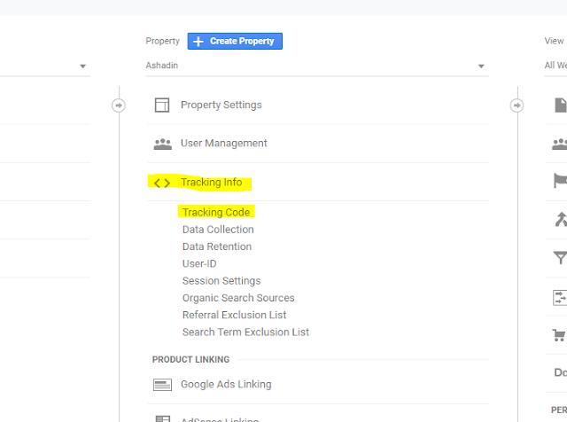 Cara memperbaiki Google Analytics Blogger yang error