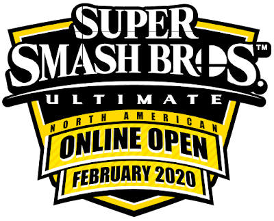 Super Smash Bros. Ultimate North American Online Open February 2020 Battlefy logo