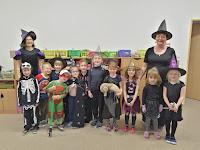 Čarodějnický rej ve školce