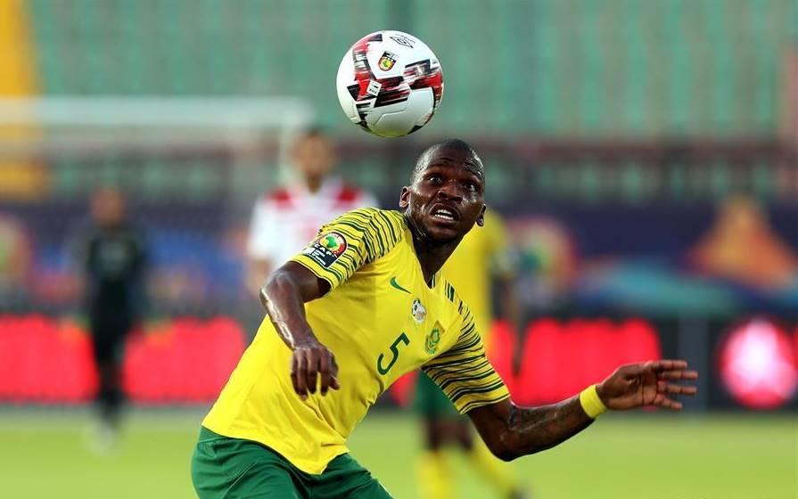 Bafana Bafana defender Thamsanqa Mkhize