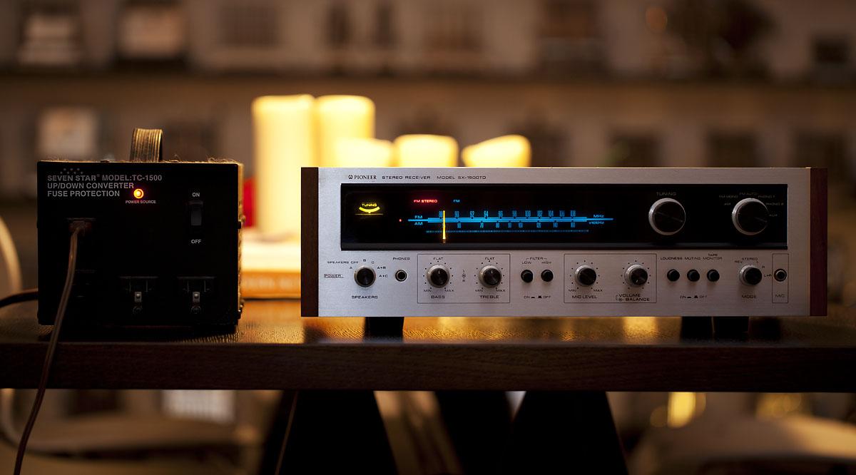 golden age of audio pioneer sx 1500 receiver. Black Bedroom Furniture Sets. Home Design Ideas
