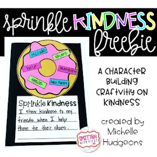 https://www.teacherspayteachers.com/Product/Sprinkle-Kindness-Donut-a-FREE-character-building-craftivity-3184528