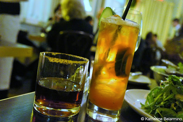 Sachmo and Pimm's Cup at Marti's Restaurant Drinks to Try in New Orleans