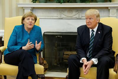 Angela Merkel, Donald Trump, Washington, amerikai-német tárgyalások