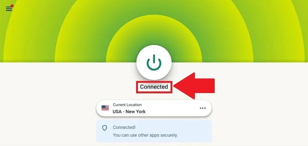 Expressvpn Android Tv 10.0.0 متصل