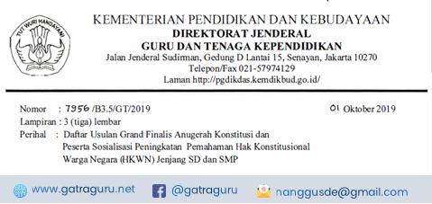 Grand Finalis Anugerah Konstitusi Tahun 2019