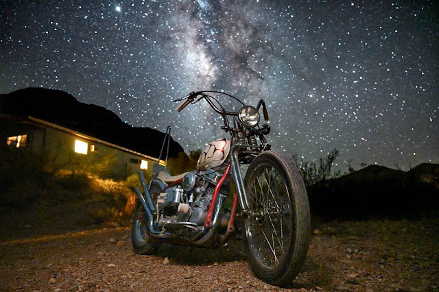 Harley Davidson Panhead By Glaze Texas Hell Kustom