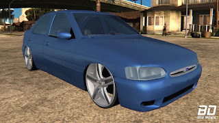 Download, mod ,carro, Ford, Escort, Zetec, GTA SA, San Andreas, Jogo, PC