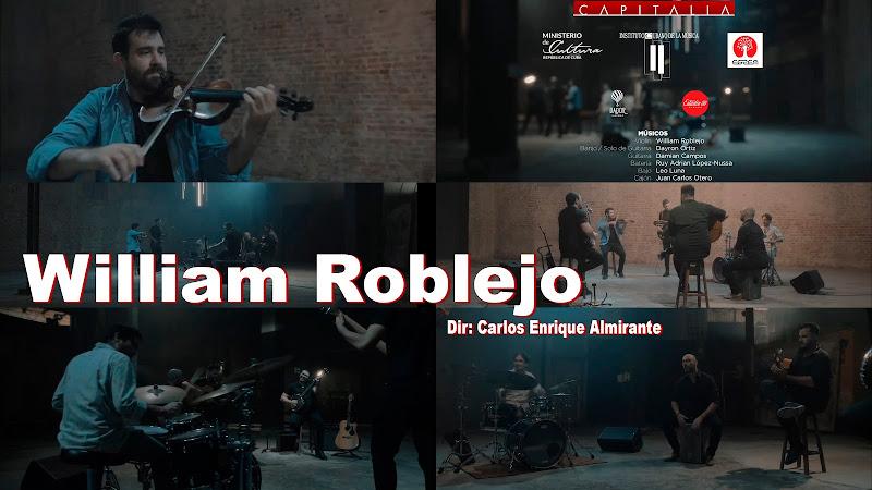 William Roblejo - ¨CAPITALIA¨ - Videoclip - Director: Carlos Enrique Almirante. Portal Del Vídeo Clip Cubano. Música instrumental cubana. Violín. CUBA.