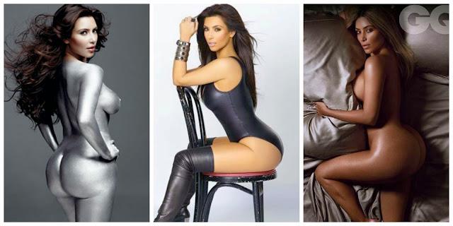 Kim Kardashian for Paper Magazine #BreakTheInternet