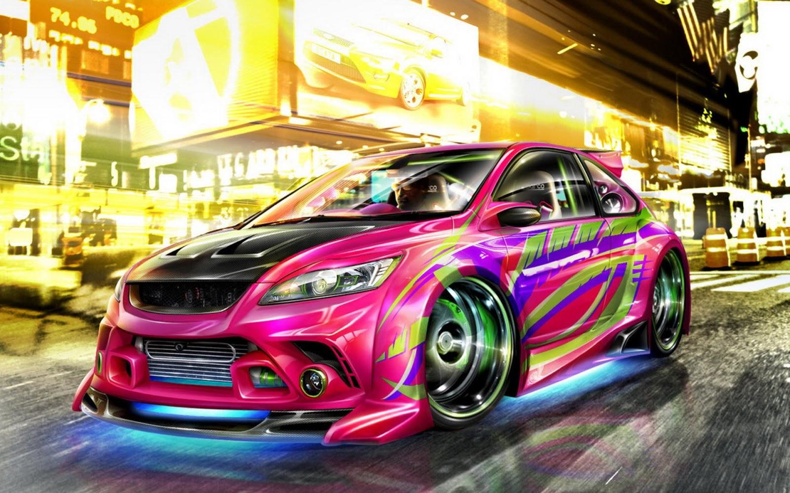 Kumpulan Wallpaper Mobil Sport Modifikasi Keren Terlengkap