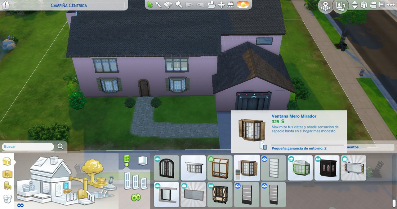 Grouper Lookout Window in The Sims 4