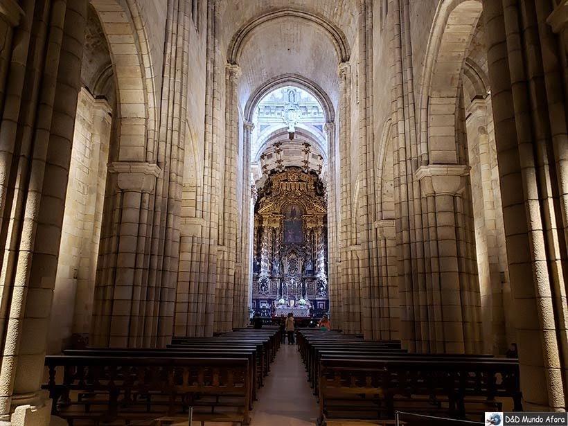 Interior da catedral da Sé do Porto - O que fazer no Porto, Portugal