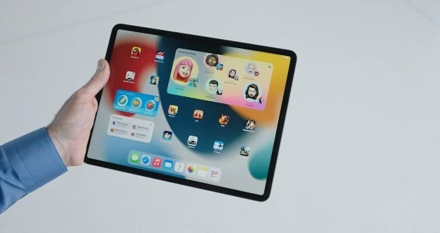 الجهاز اللوحي iPadOS 15