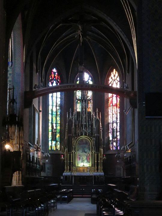 Ołtarz główny Bazyliki św. Franciszka.