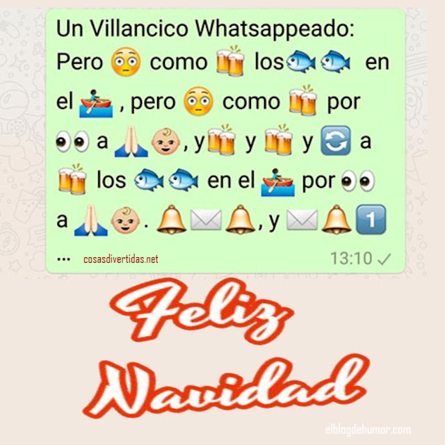 whatsapp divertidos navidad