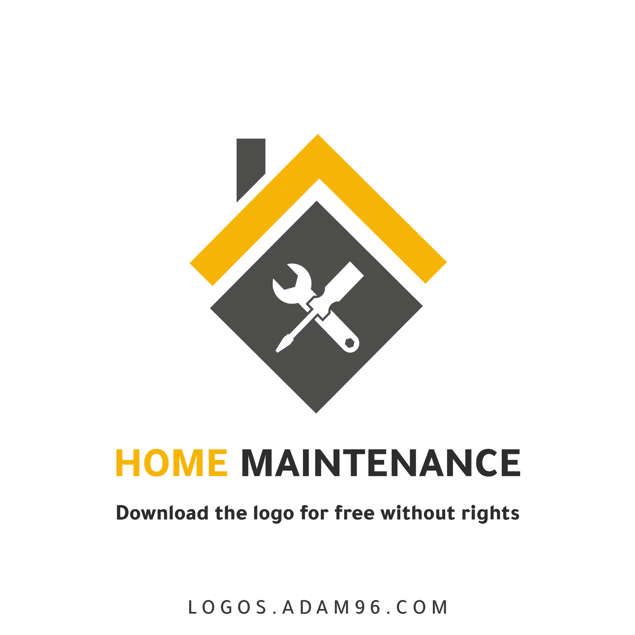 Download logo Home maintenance the for free without rights