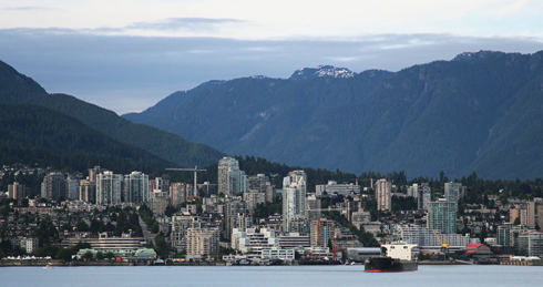 Downtown Vancouver British Columbia