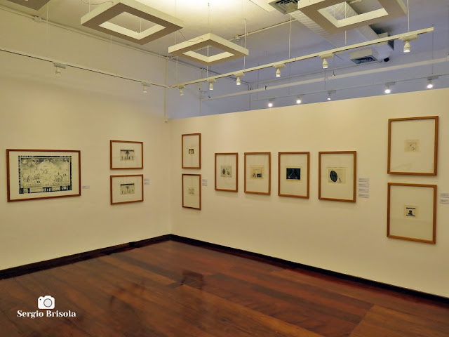 Vista de parte da Exposição Palimpsesto - Museu Lasar Segall - Vila Mariana - São Paulo