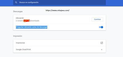 automatic downloads google chrome javascript