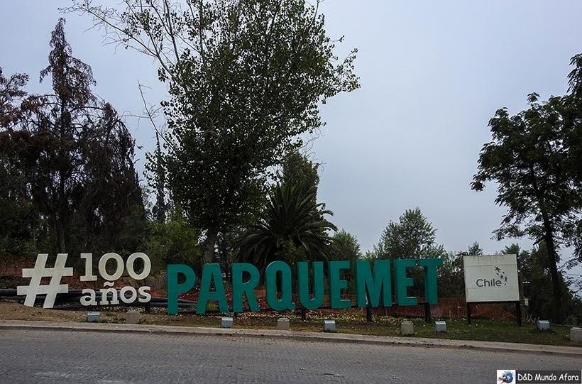 Parque Parquemet em Santiago - Diário de Bordo Chile: 8 dias em Santiago e arredores