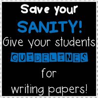 https://www.teacherspayteachers.com/Product/Paper-Guidelines-Take-the-Stress-Out-of-Assigning-History-Papers-723850