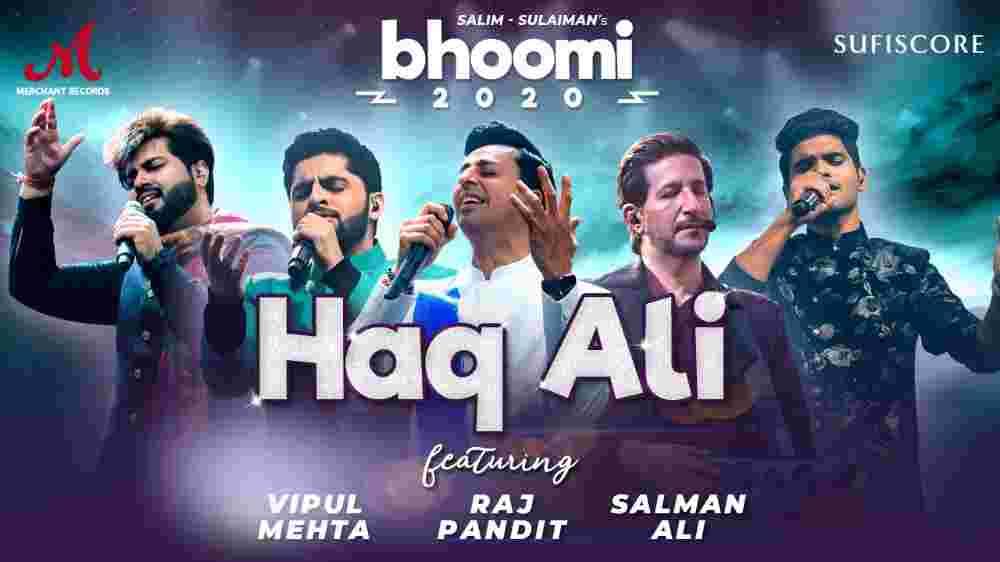 Haq Ali Lyrics - Salim Merchant   Salman Ali
