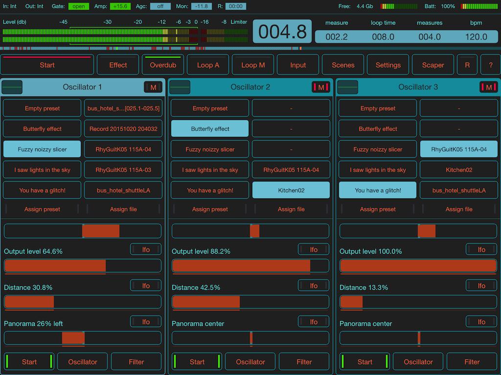 Motion Soundscape: FieldScaper live improvisation with MIDI