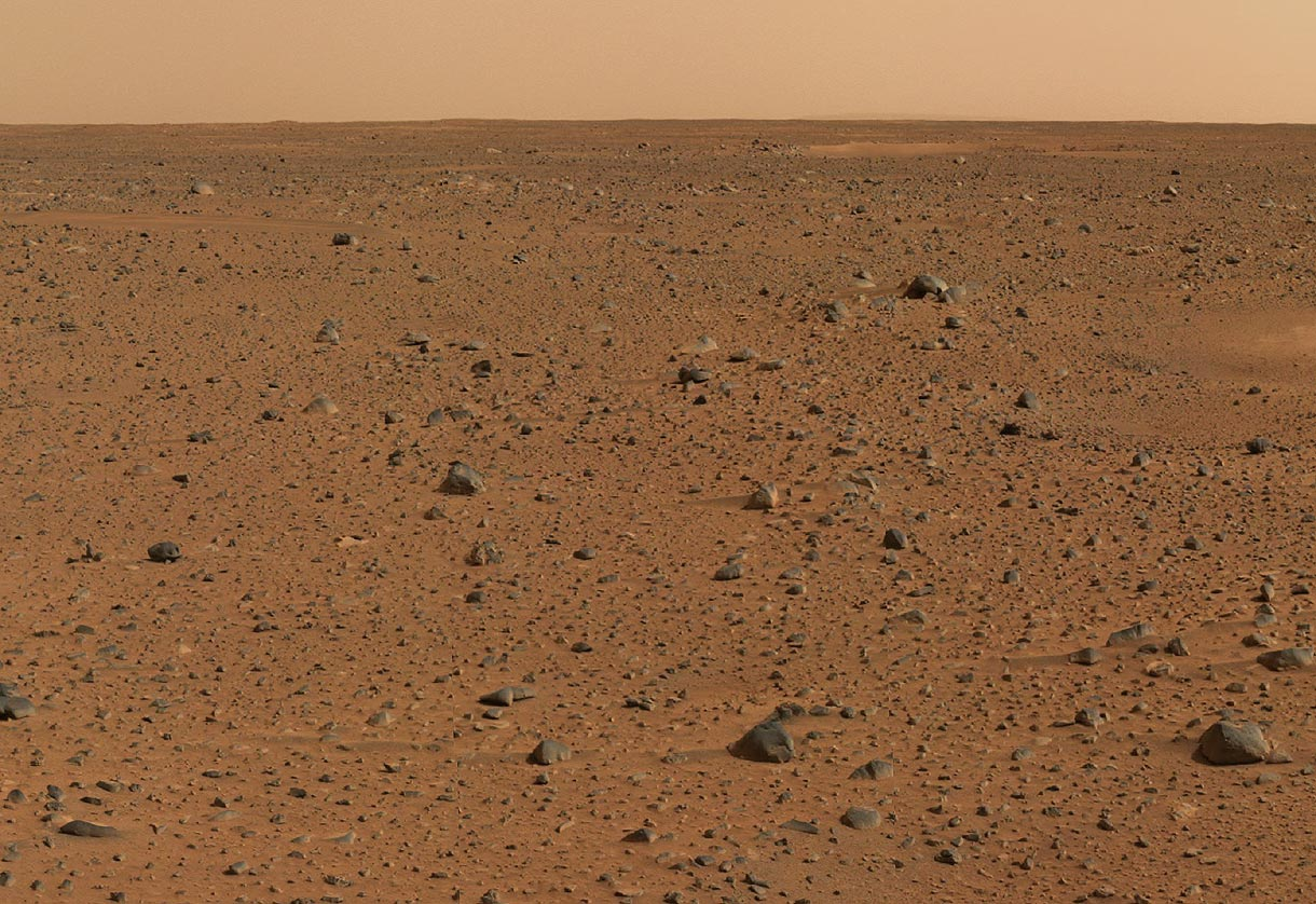 The Imaginings of a Creative Writer: Life on Mars