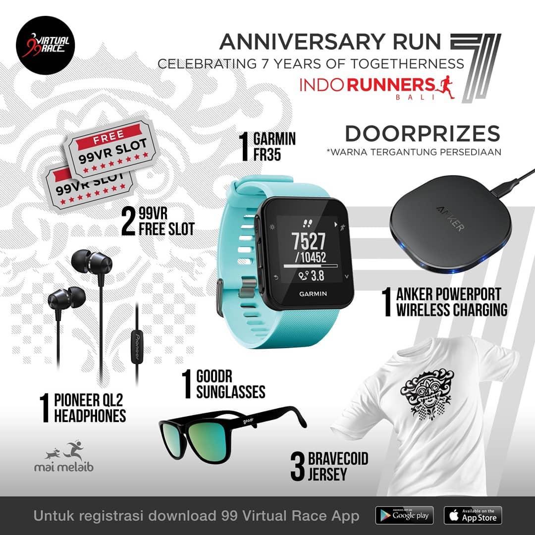 Doorprize - IndoRunners Bali 7th Anniversary • 2019