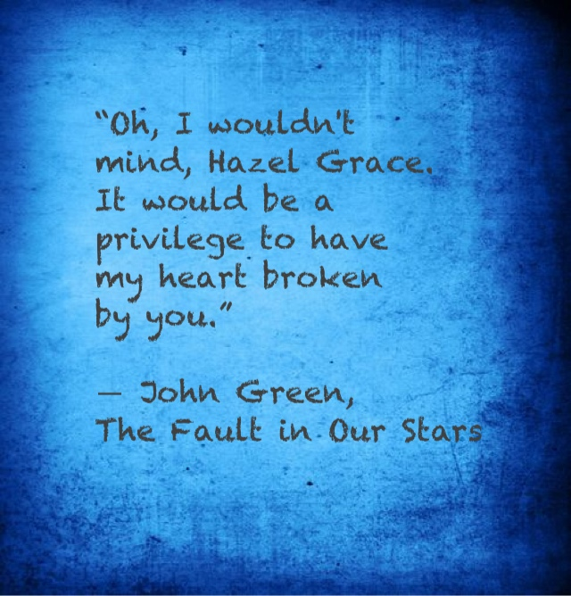 The Fault in Our Stars Quotes and Fan Art - The Fault in ...
