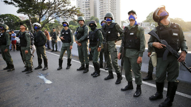 Van 17 detenidos por alzamiento militar del 30-A contra Maduro