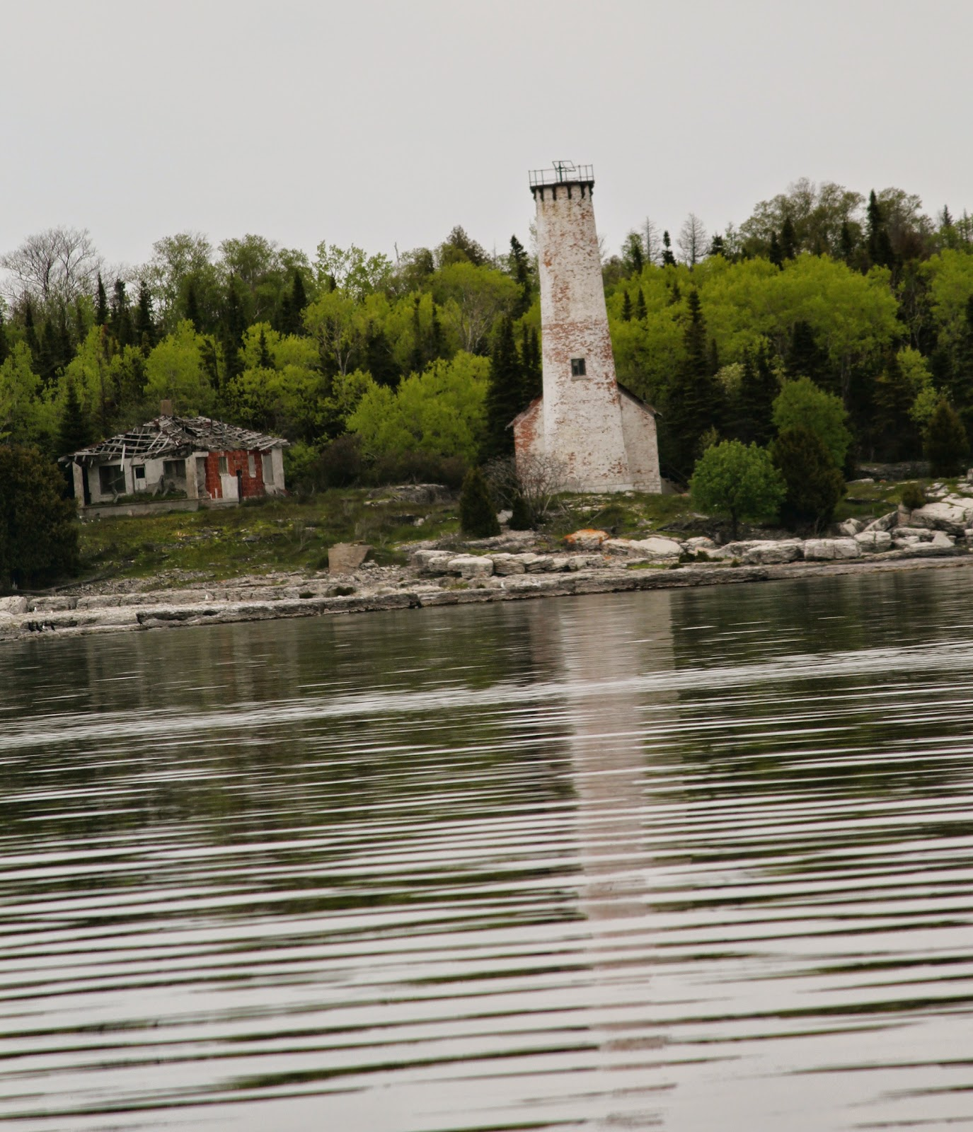 Wisconsin Historical Markers Poverty Island Lighthouse